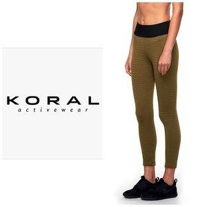 NWOT Koral Envy Leggings